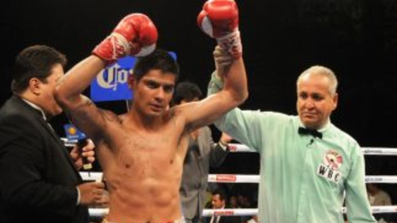 Salgado sólo tiene la victoria en su mente. (Foto. HG Boxing)