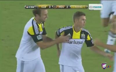 El Dynamo vs Crew termina en empate 2-2