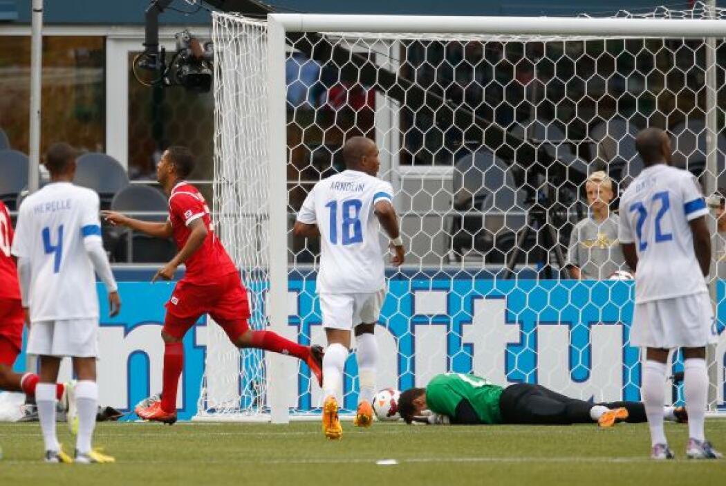 Panamá empataba a cero con Martinica, cuando el árbitro señaló un claro...
