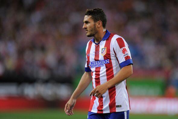 El plurifuncional centrocampista del Atlético estuvo en la mira del Barç...