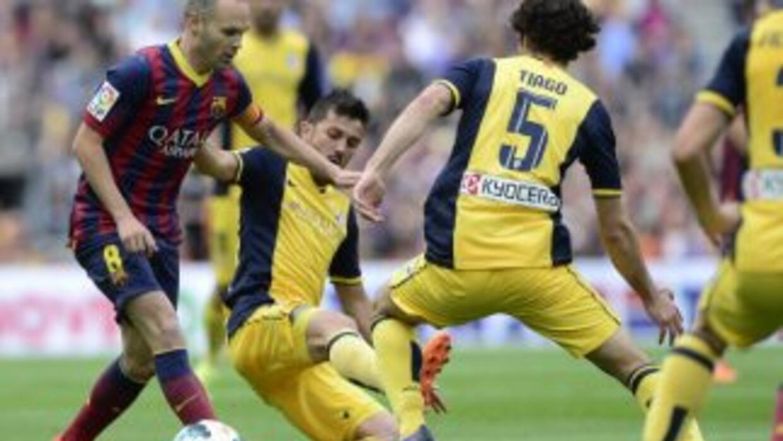 Andrés Iniesta calificó como desatrosa la temporada del Barcelona.