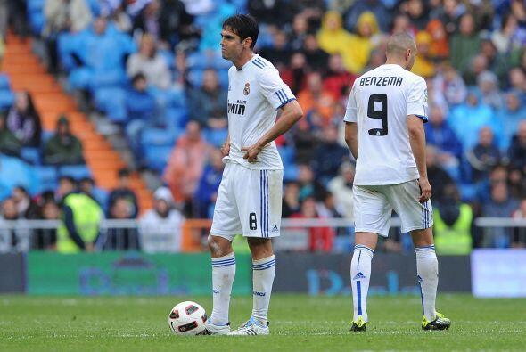 Kaká nunca pudo imponer su juego y los 'merengues' siguen sin mostrar su...