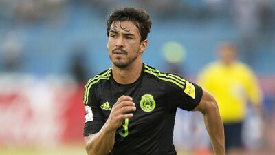 Oswaldo Alanís se lesionó en el juego ante Honduras