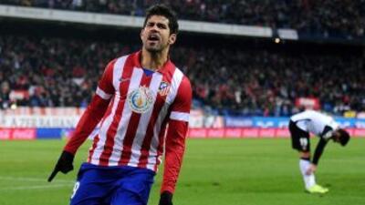 Pese a fallar un penalti, los dos goles de Costa lideraron la victoria '...