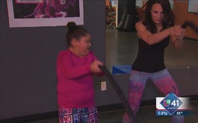 Un gimnasio y una nutriologa, las herramientas de Jassalyne para combati...