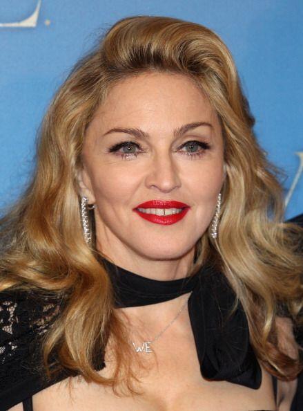 ¡Madonna es otra diosa de labios rojizos! Siempre que busca un 'lo...