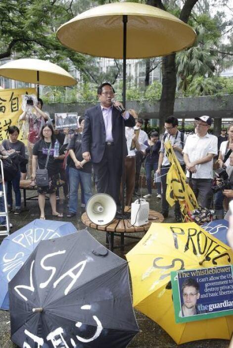 Los manifestantes, convocados por 27 organizaciones de la sociedad civil...