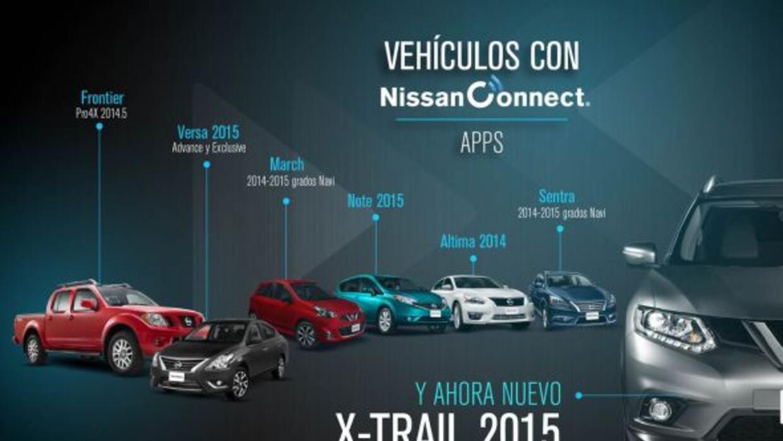 Nissan sigue innovando con su sistema de conectividad en sus vehículos.