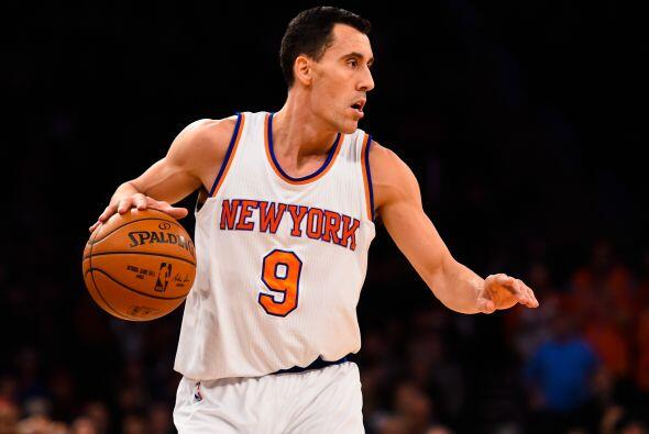 Pablo Prigioni de Nueva York Knicks a los Houston Rockets - La ola de ca...