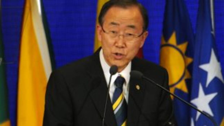 Ban explicó que aquellos responsables por los abusos en Siria serían lle...
