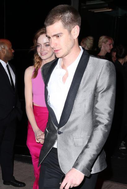 Emma Stone y Andrew Garfield  fueron de las celebridades que no cambiaro...