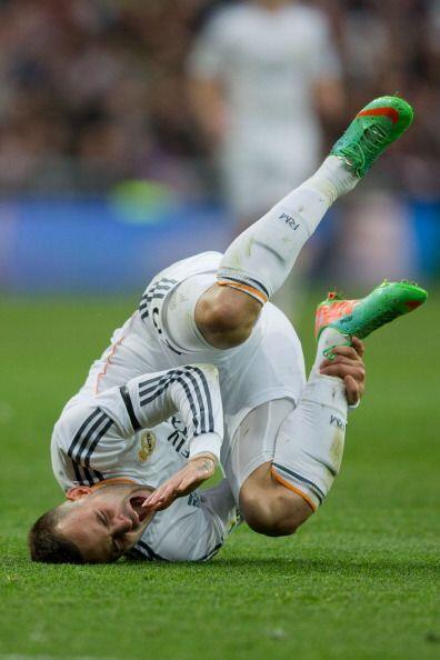 Benzema, no tuvo su mejor día de cara al gol aunque lo intent&oac...