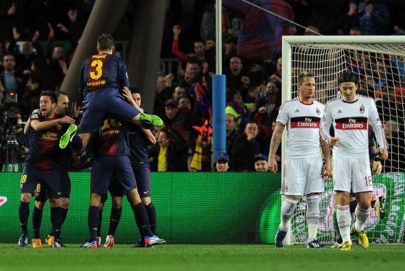 Con casi todo el partido por delante el Barcelona se ponía a un gol de i...