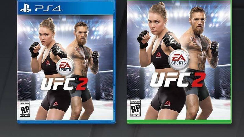 Conor McGregor acompañará a Ronda Rousey en portada de videojuego