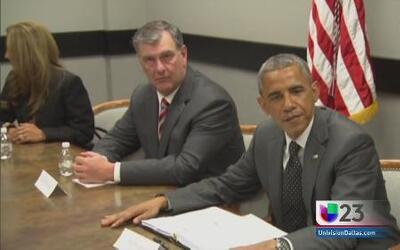 Lo que se habló con Barack Obama en Dallas