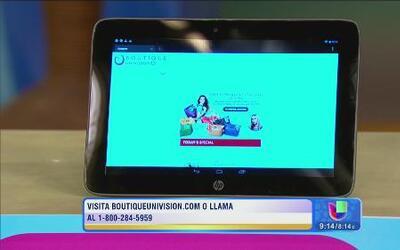Los electrónicos más modernos y más económicos en Boutique Univision
