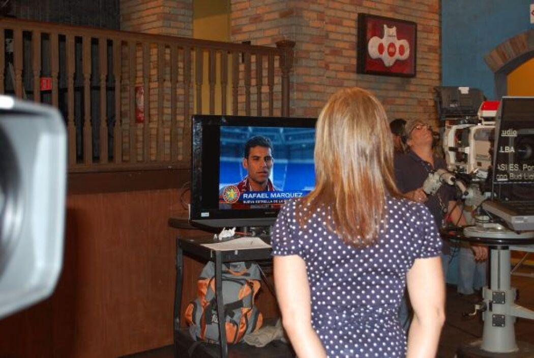 Rosana estaba aquí viendo con atención la entrevista exlusiva de Félix c...