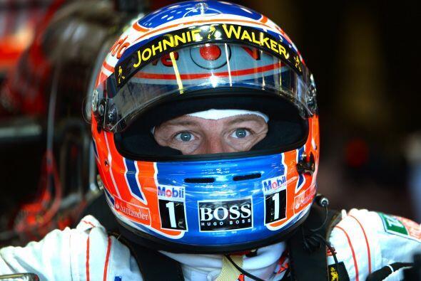 Jenson Button, encontrando su propio acomodo.