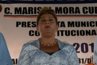 Marisol Mora Cuevas, alcaldesa del municipio deTlacojalpan, Veracruz. (...