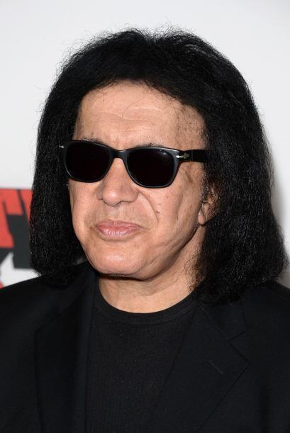 A Gene Simmons la edad no le a favorecido.