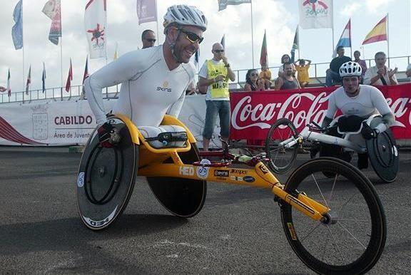 El atleta paralímpico español Rafael Botello es uno de los...