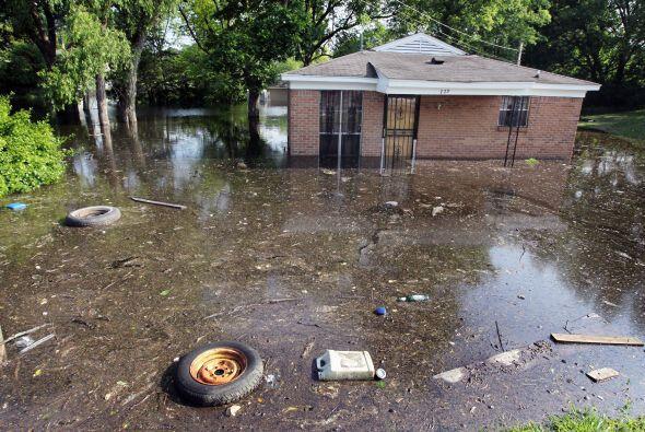 Algunas poblaciones de Illinois junto al río Ohio aplaudieron la demolic...