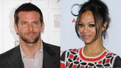 Zoe Saldana y Bradley Cooper sí están oficialmente de novios y ya han ap...