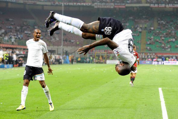 Pero sin dudas el ganador fue el delantero francés del Lazio, Cisse.
