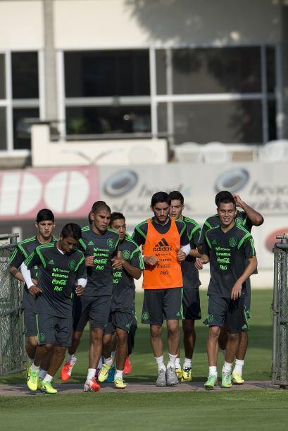 El equipo mexicano aumewntará día con día la intensidad en sus entrenami...