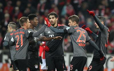 bayern Munich venció 3-1 al MainzB