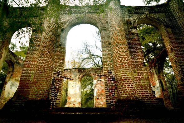 Los lugares que elige son zonas turísticas, bosques o sitios con ruinas.