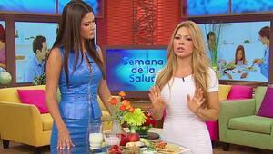 Claudia Molina te enseña a comer las porciones de comida correctas