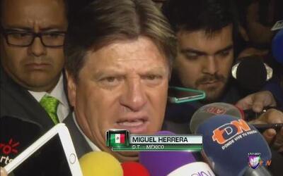 """Miguel Herrera: """"El equipo está para llegar a la final"""""""