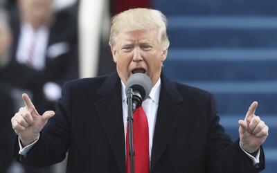 Donald Trump ofreció un discurso de 20 minutos frente al Capitoli...