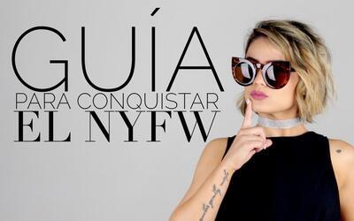 Cómo conquistar el NY Fashion Week. Maiah lo sabe (y te lo dice)