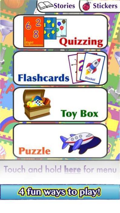 SHAPES TODDLER PRESCHOOL - La aplicación tiene tests de colores, tarjeta...