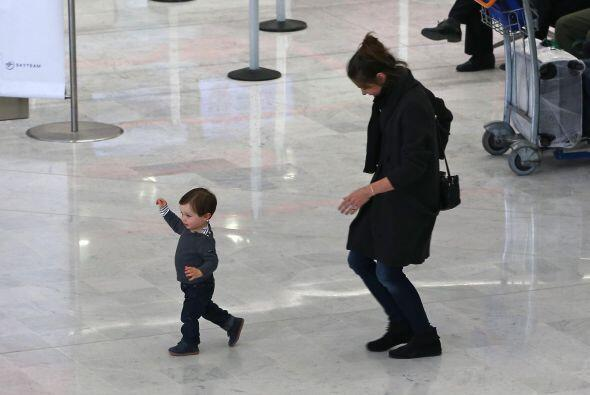 ¡Se escapó de mami!