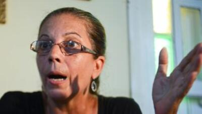 Ofelia Acevedo, viuda del disidente cubano Oswaldo Payá.