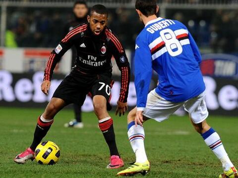 Milan intentó pero no pudo llegar al triunfo, empató 1 a 1...