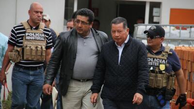 Flavino Ríos es detenido en Xalapa