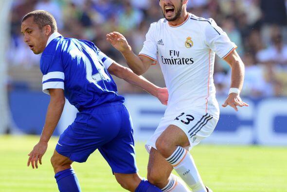 El Real Madrid, que se prepara para la próxima temporada de la Liga espa...
