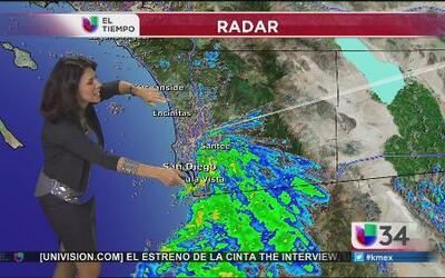 HOY - Sigue la lluvia, tome sus precauciones
