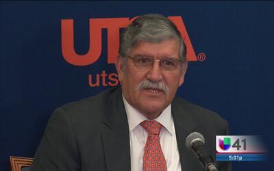 Dr. Ricardo Romo deja la presidencia de UTSA