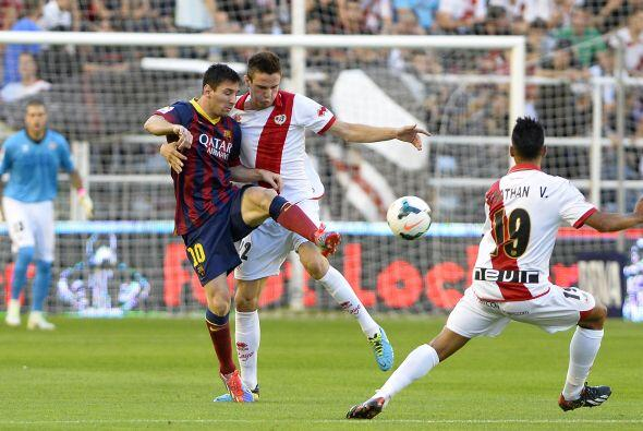 La victoria del Barcelona estaba sentenciada.