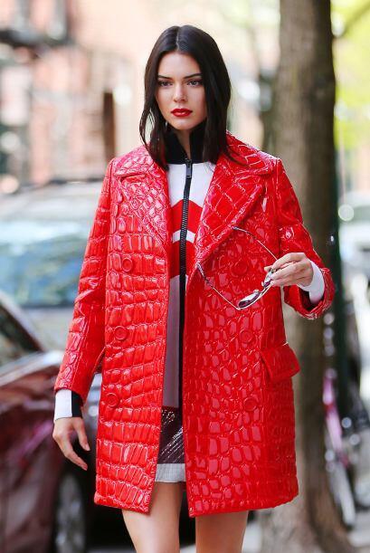Mira a Kendall posar como toda una supermodelo en Manhattan, para la rev...