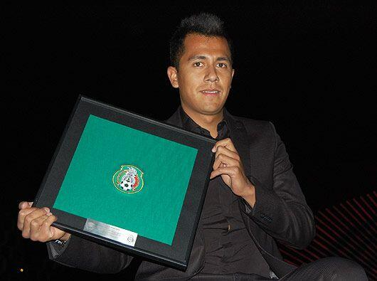 El marchista de bronce en el mundial de Atletismo, Eder Sánchez fue de l...