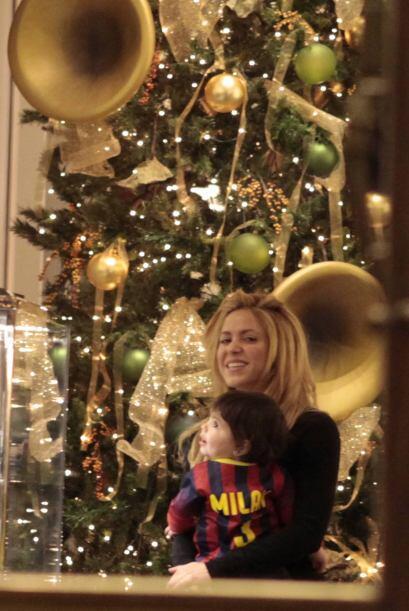 Sin duda, el futbolista ya tiene el mejor regalo con esta bella familia.