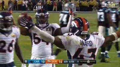 Von Miller vuelve a humillar a Cam Newton en el Super Bowl 50