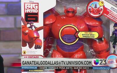 Gánate el robot de 'Big Hero 6'