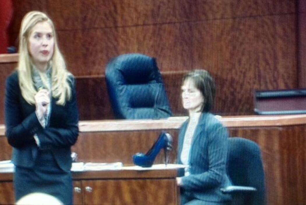 Los abogados de Trujillo alegaron que ella se estaba defendiendo del hom...